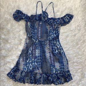 Romeo + Juliet Multi-Print Dress